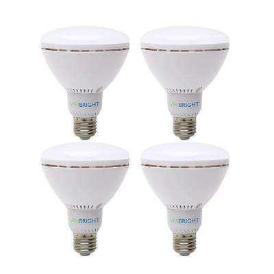 65-Watt Equivalent (6500K) BR30 Dimmable 90+ CRI Flood LED Light Bulb, Daylight (4-Pack)