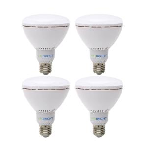 CRI 80 3000K Pack of 4 800 lm Euri Lighting EA19-3101-4 Enlosed Rated Non-Dimmable A19 Light Bulb E26 Base
