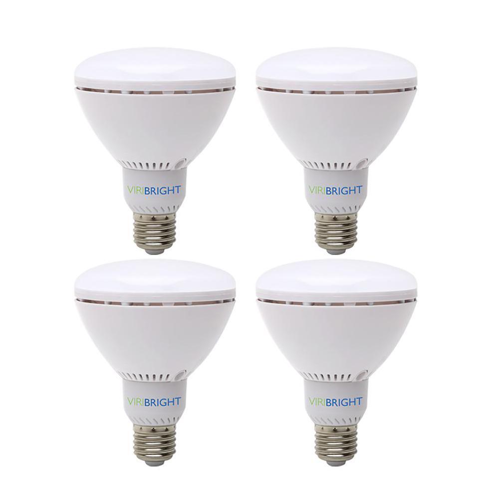 65-Watt Equivalent (6500K) BR30 Dimmable 90+ CRI Flood LED Light Bulb, Daylight (4-Pack)