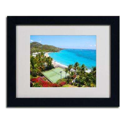 11 in. x 14 in. Virgin Islands 5 Matted Framed Art