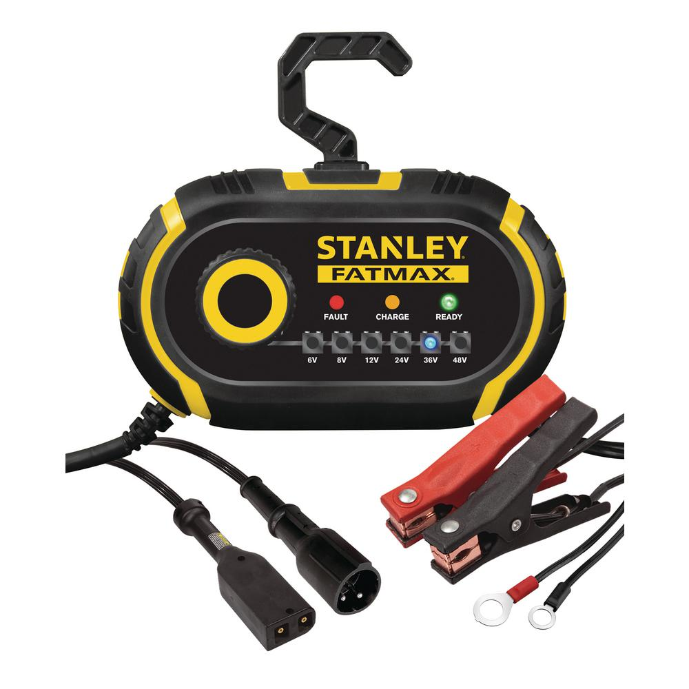 Stanley 6-Volt to 48-Volt Battery Charger/Maintainer