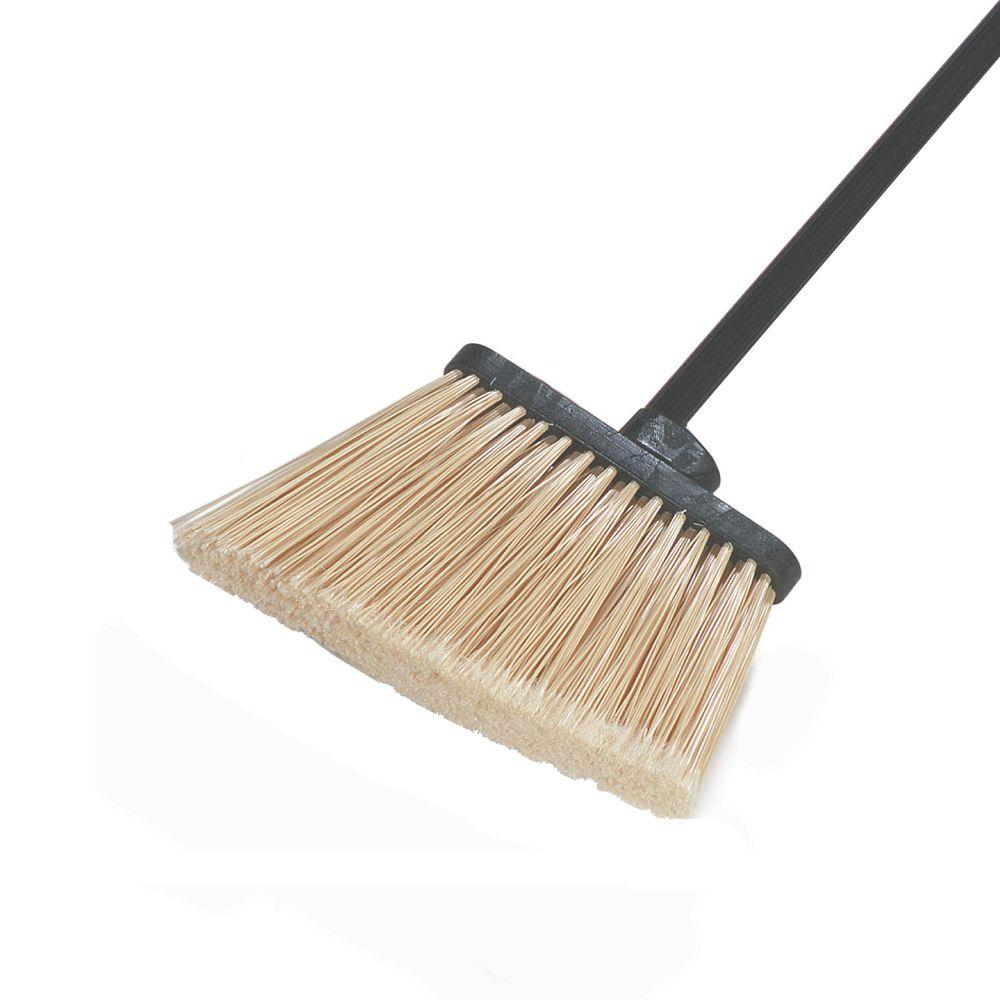 Carlisle Duo-Sweep Medium Duty Angle Broom with 12 in. Flare Polypropylene Bristles (12-Pack)