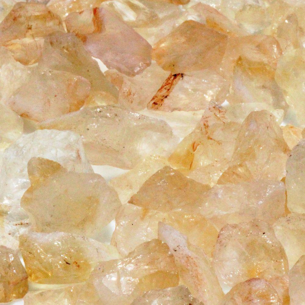 Citrine Semi-Precious Stone - 5 lb. Bag