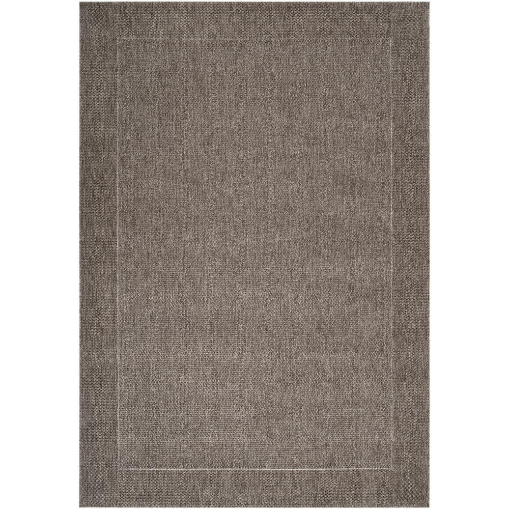 Tyree Charcoal 8 ft. x 11 ft. Indoor/Outdoor Area Rug