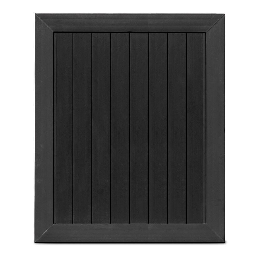 black vinyl privacy fence. H Black Vinyl Anaheim Privacy Fence