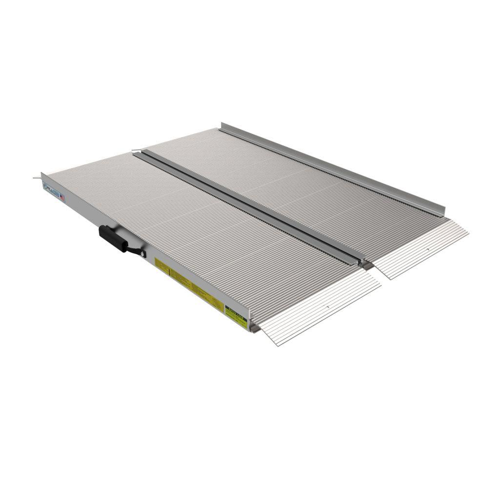 Traverse 4 ft. Aluminum Single Fold Ramp