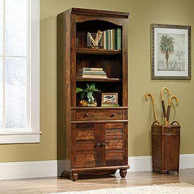 Harbor View Curado Cherry 2-Door 1-Drawer Bookcase