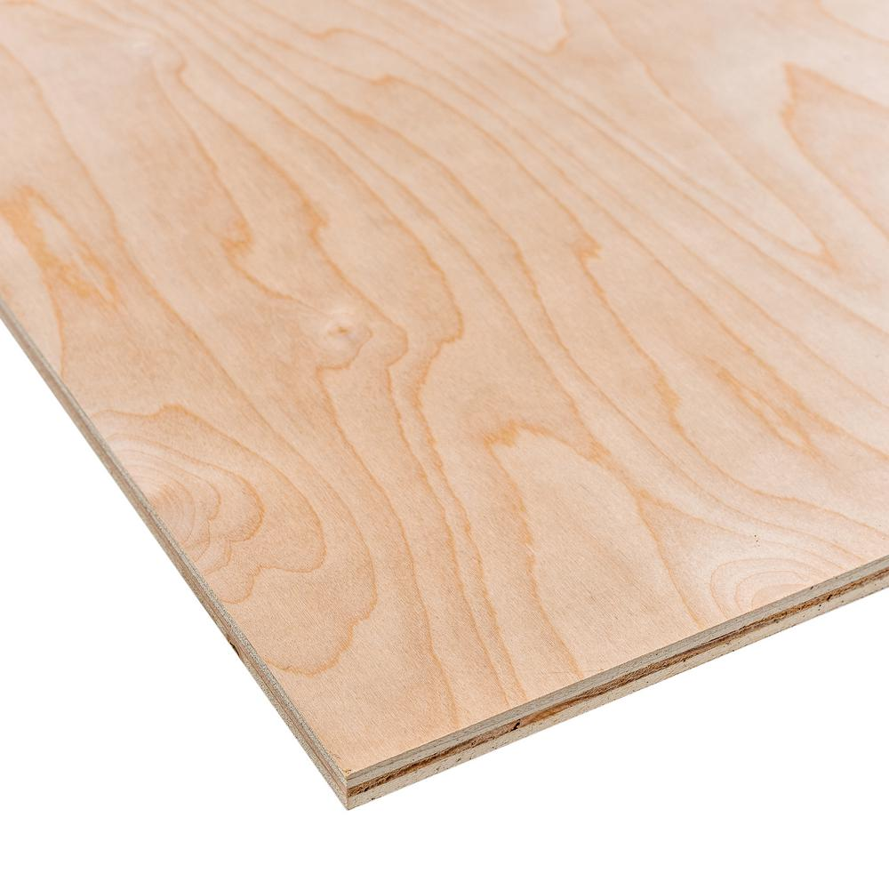 Dimensions Sande Plywood (Common: 1/2 in. x 2 ft. x 4 ft.; Actual: 0.472 in. x 23.75 in. x 47.75 in.)