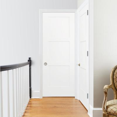 32 in. x 80 in. Birkdale Primed Right-Hand Smooth Solid Core Molded Composite Single Prehung Interior Door