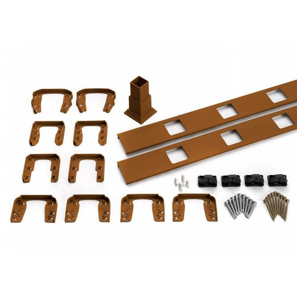 Transcend 67.5 in. Composite Tree House Horizontal Square Baluster Accessory Kit