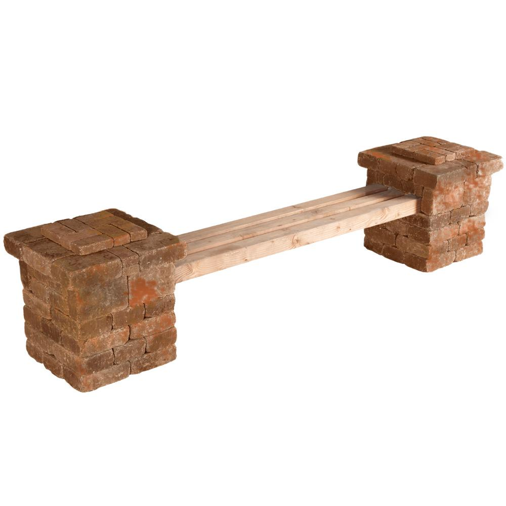 Pavestone Bench Outdoor Living Kits Hardscapes The Home Depot