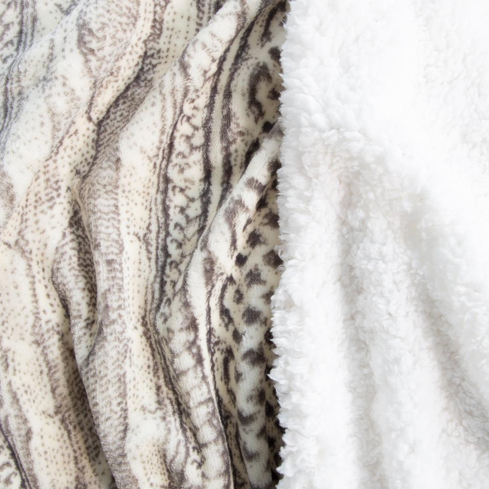 Polyester Flannel/Sherpa Blanket