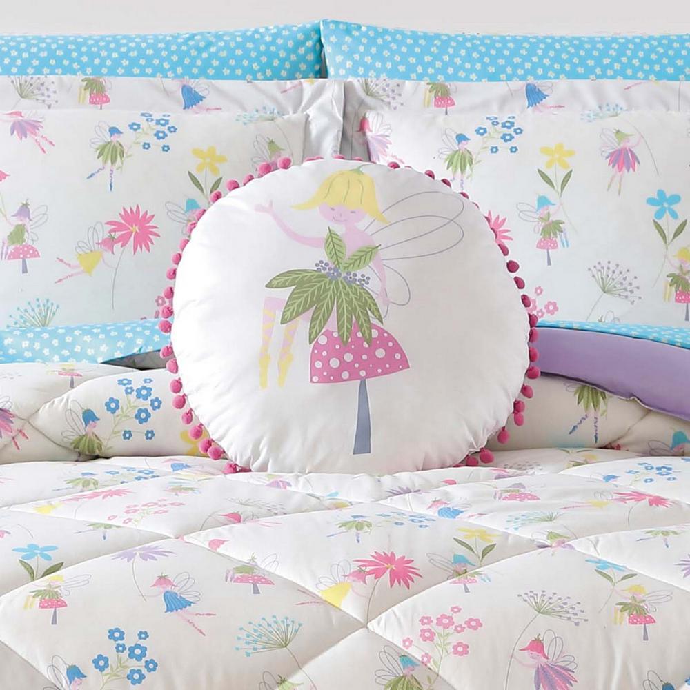 Kids Garden Fairies Shaped Pillow