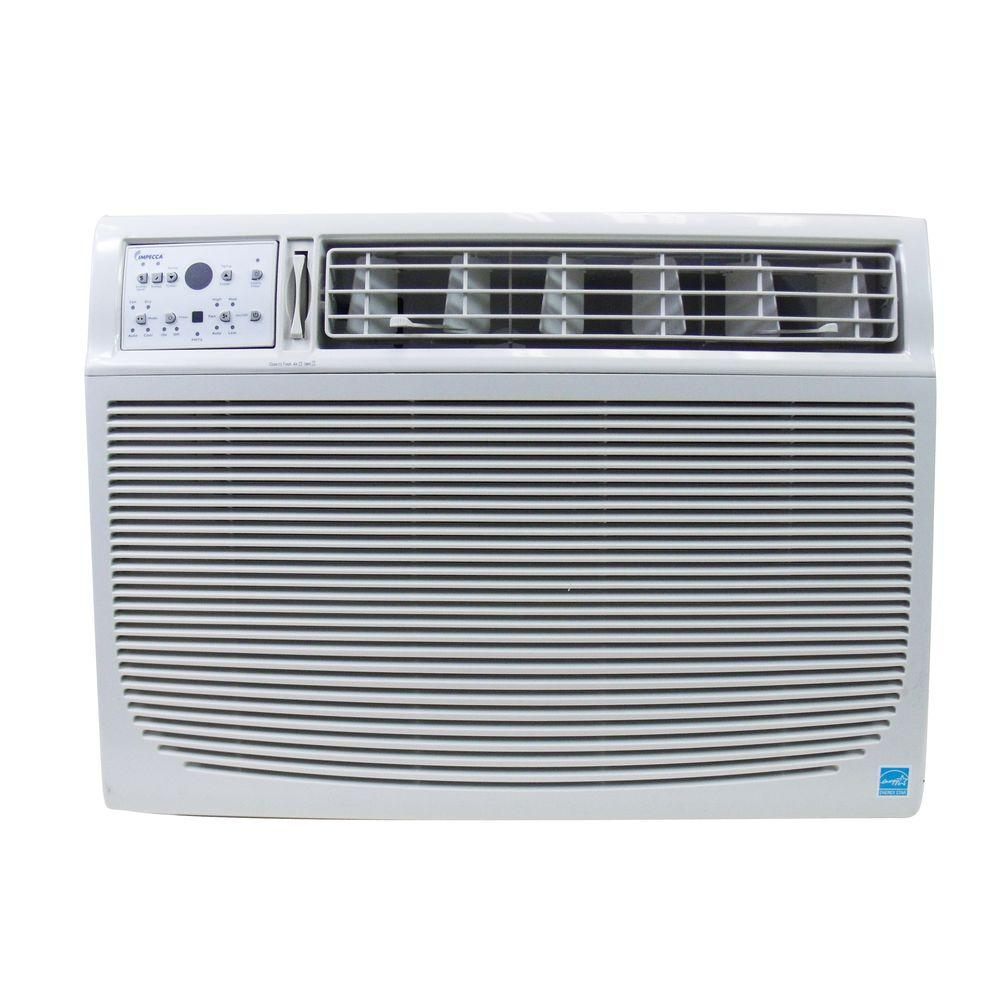 Impecca 15,000 BTU Window Air Conditioner with Electronic Controls, Remote and 3 Cooling Speeds
