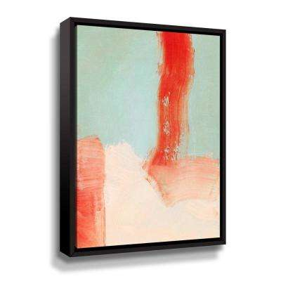 'Color study' by  Iris Lehnhardt Framed Canvas Wall Art