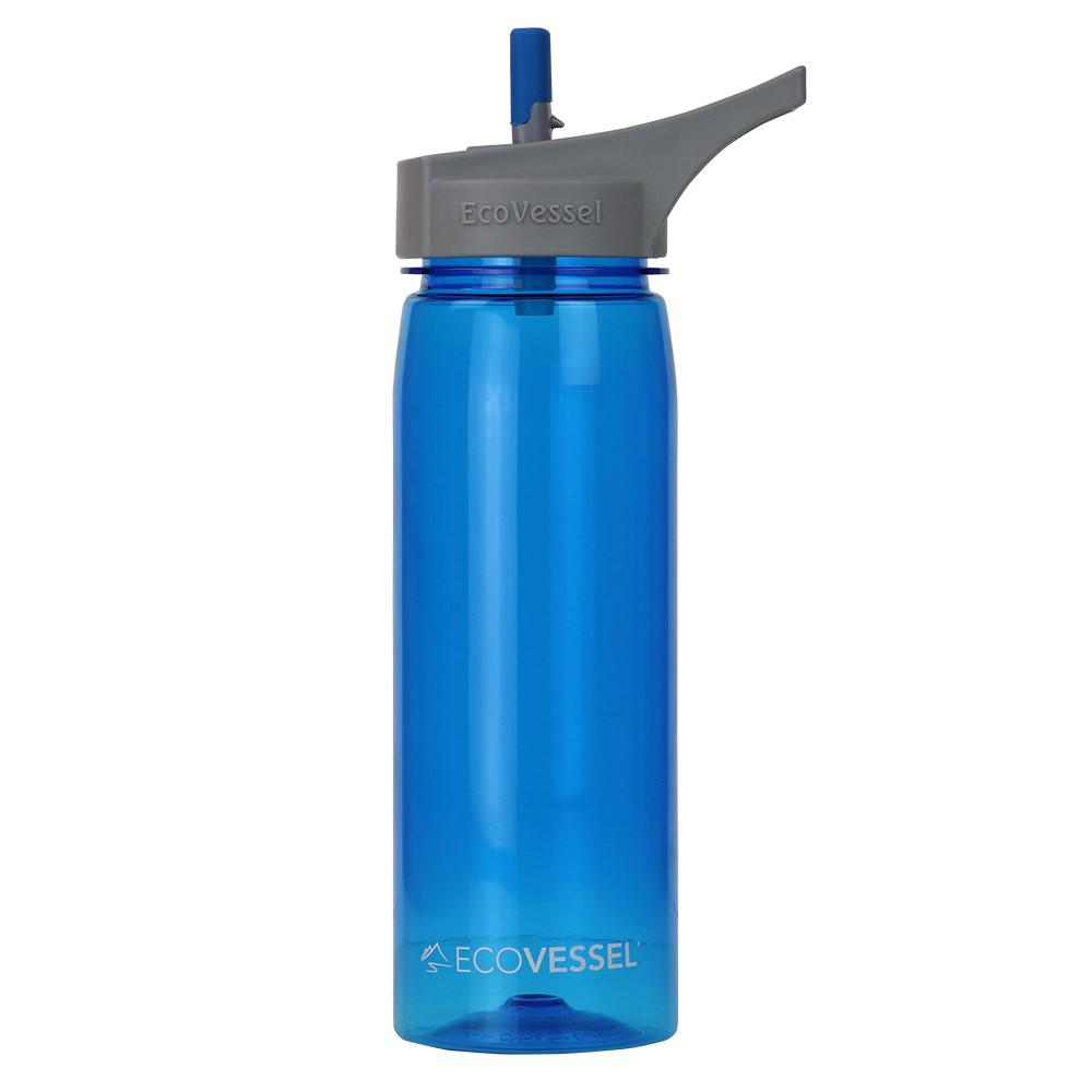 25 oz. Wave Tritan Plastic Bottle with Straw Top - Boulder