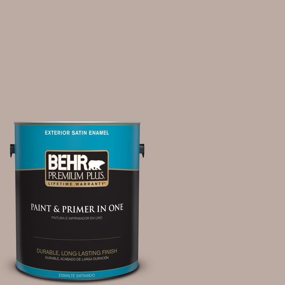 BEHR Premium Plus 1-gal. #770B-4 Classic Satin Enamel Exterior Paint