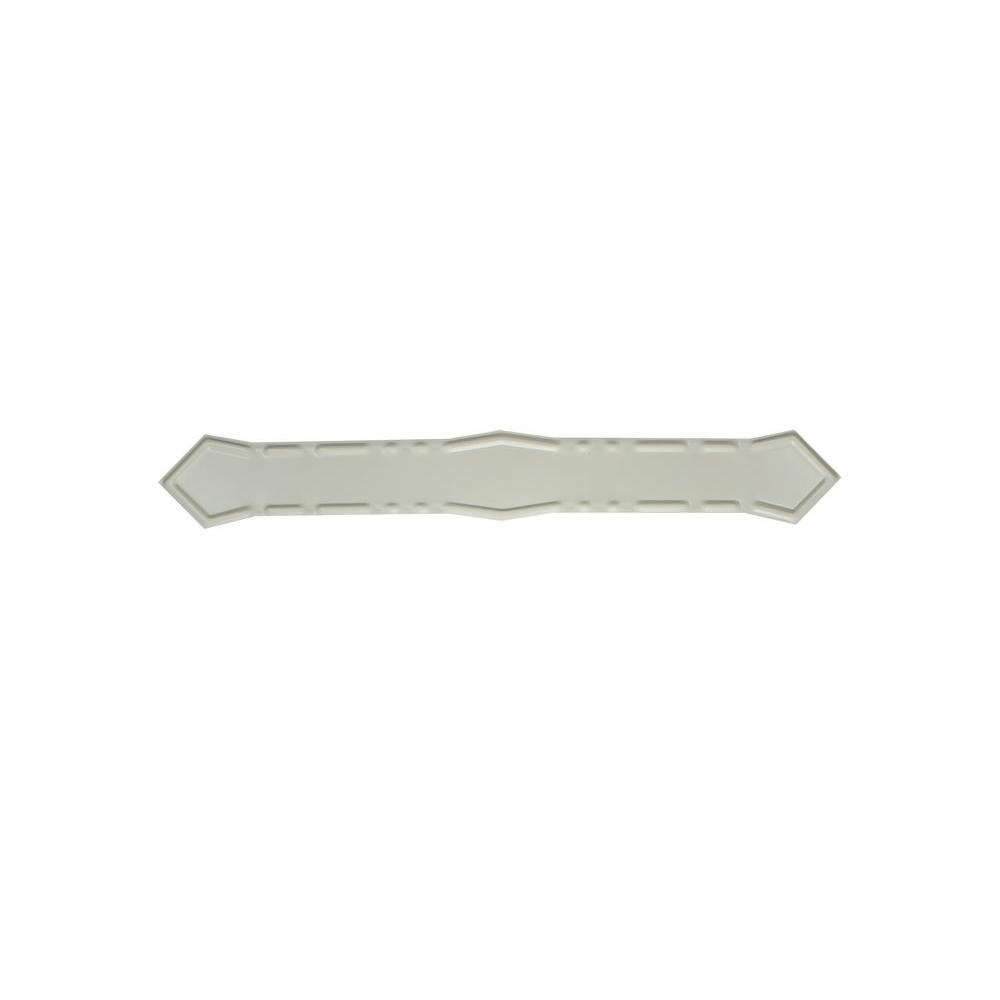 Spectra Metals Eggshell Aluminum Diamond Downspout Band