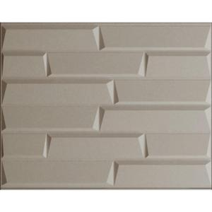 1/4 in. x 48 in. x 96 in. Kingston Brick Hardboard Wall Panel ...