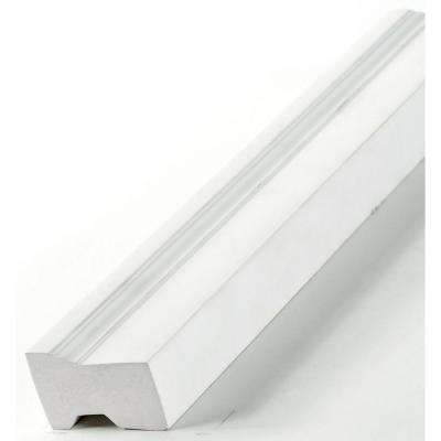 1-1/4 in. x 2 in. x 84 in. Vinyl Brick Moulding Set (3-Pieces)