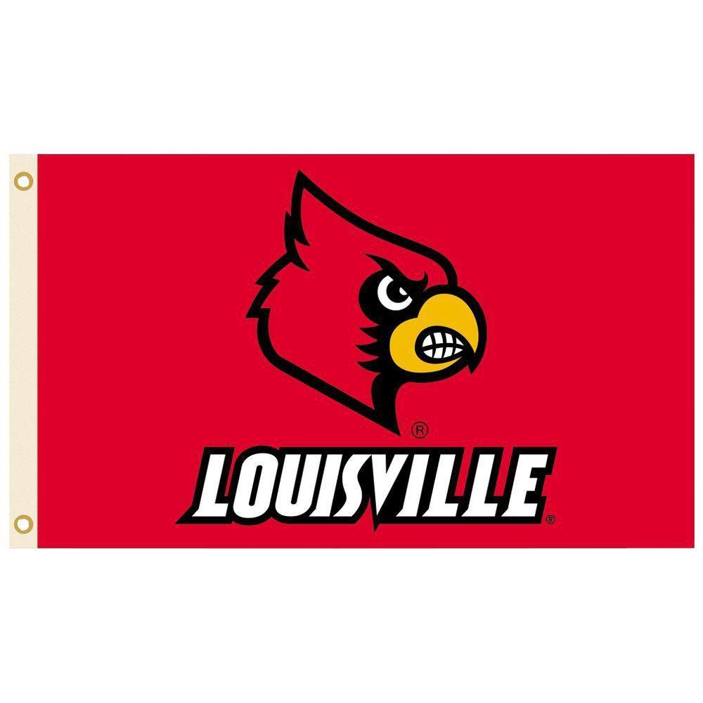 NCAA 3 ft. x 5 ft. Louisville Flag