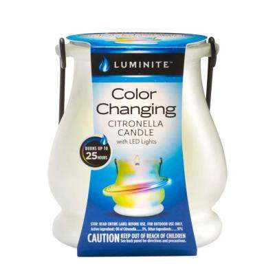 7.1 oz. Color Changing Citronella Candle