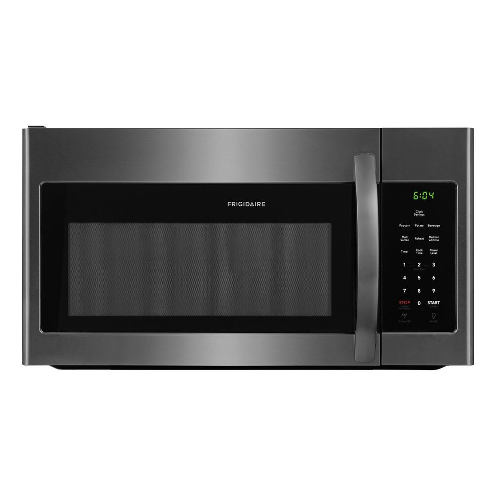 Beau Frigidaire 30 In. 1.6 Cu. Ft. Over The Range Microwave In Black Stainless