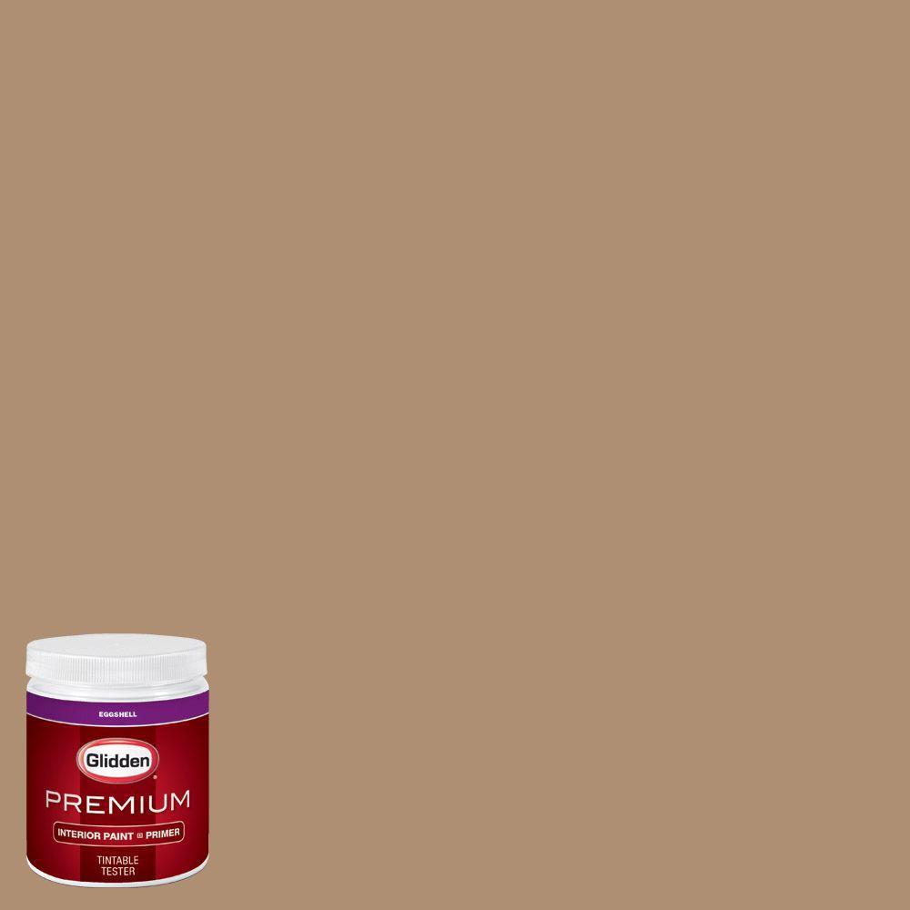 Glidden Premium 8 Oz Hdgo51 Sandy Cove Eggshell Interior Paint With Primer Tester Hdgo51p 08en