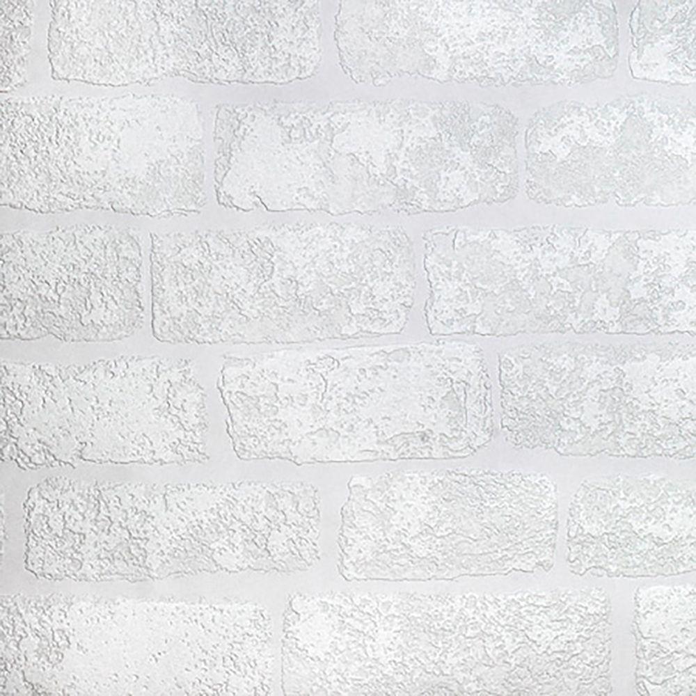 Lincolnshire Brick Paintable Luxury Vinyl Wallpaper