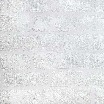 Lincolnshire Brick Paintable Luxury Vinyl Wallpaper