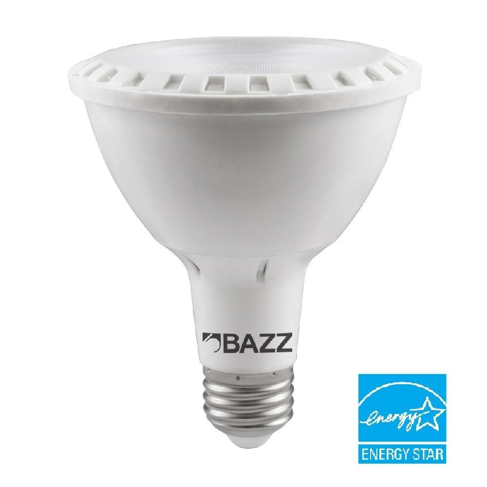 BAZZ 60W Equivalent Soft White PAR30 LED Light Bulb  sc 1 st  The Home Depot : ez led lighting - azcodes.com