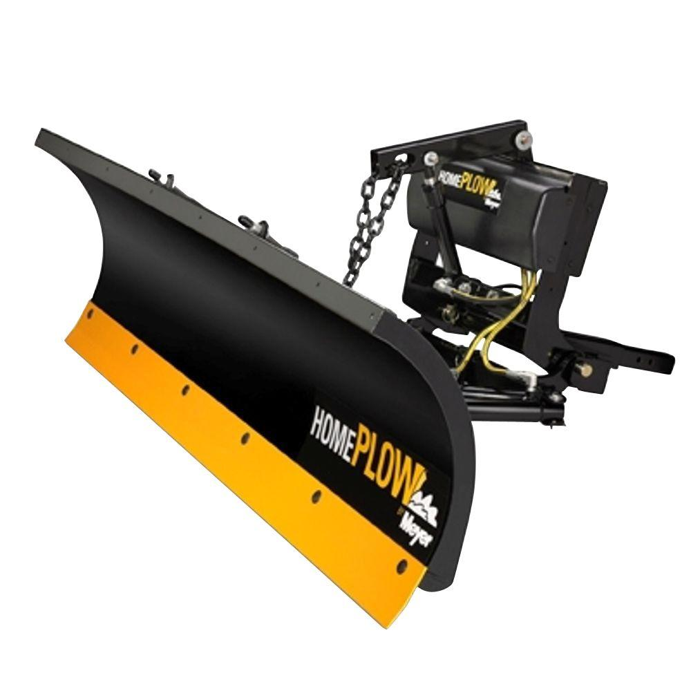 home plow by meyer 80 in x 22 in residential power angle snow plow
