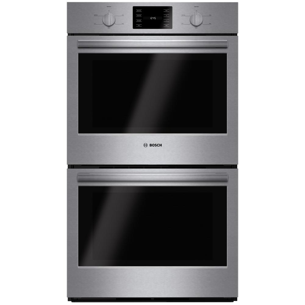 Bosch 500 Series 30 In Double Electric Wall Oven Self Cleaning