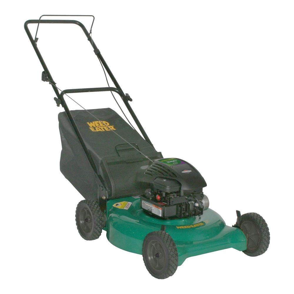 Weed Eater 21 in. Briggs & Stratton 2-in-1 Push Gas Walk Behind Lawn Mower-DISCONTINUED