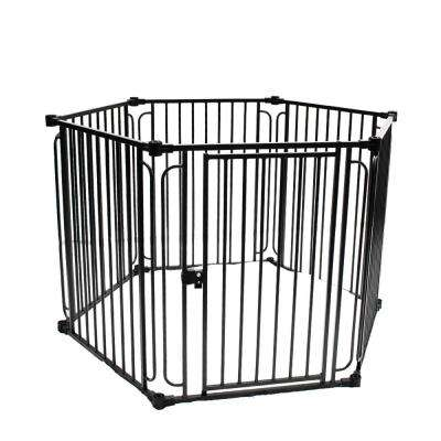 Heavy-Duty Modular Dog Playpen with Door