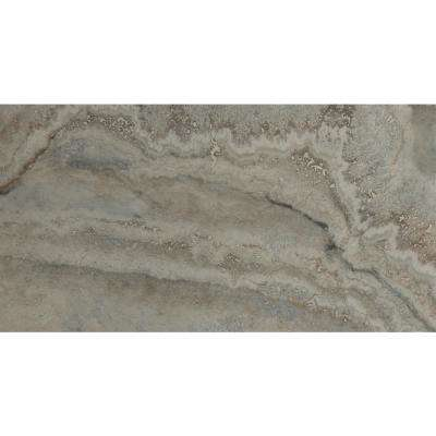 Tuscany Azul 12 in. x 24 in. Glazed Porcelain Floor and Wall Tile (20 sq. ft. / case)
