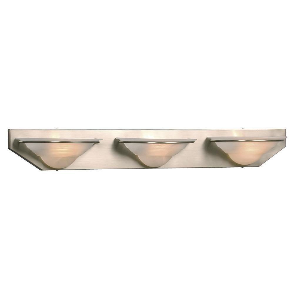 Negron 3-Light Pewter Halogen Bath Vanity Light
