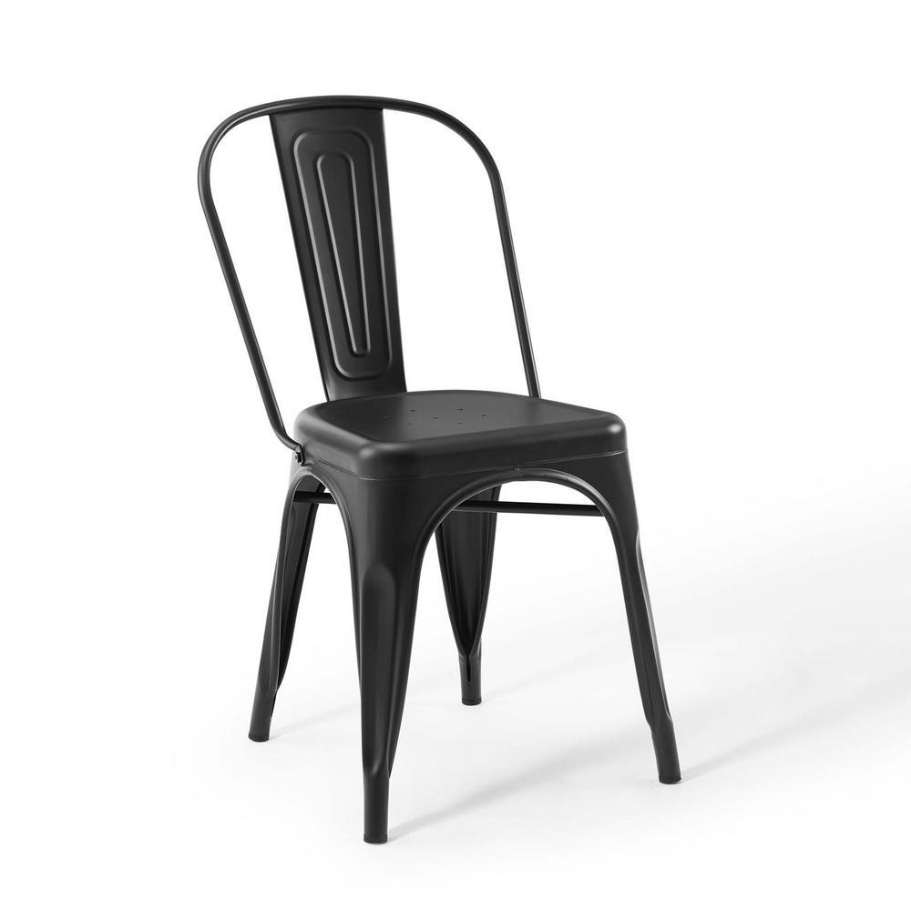 Promenade Bistro Black Dining Side Chair (Set of 2)