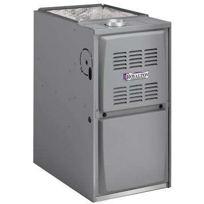 66,000 BTU 80% AFUE Single-Stage Upflow/Horizntal Forced Air Natural Gas Furnace with PSC Blower Motor