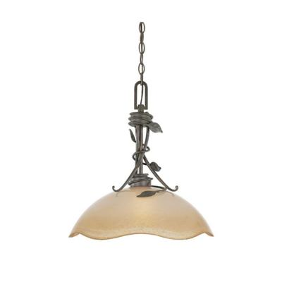 Timberline 1-Light Old Bronze Hanging/Ceiling Down Light