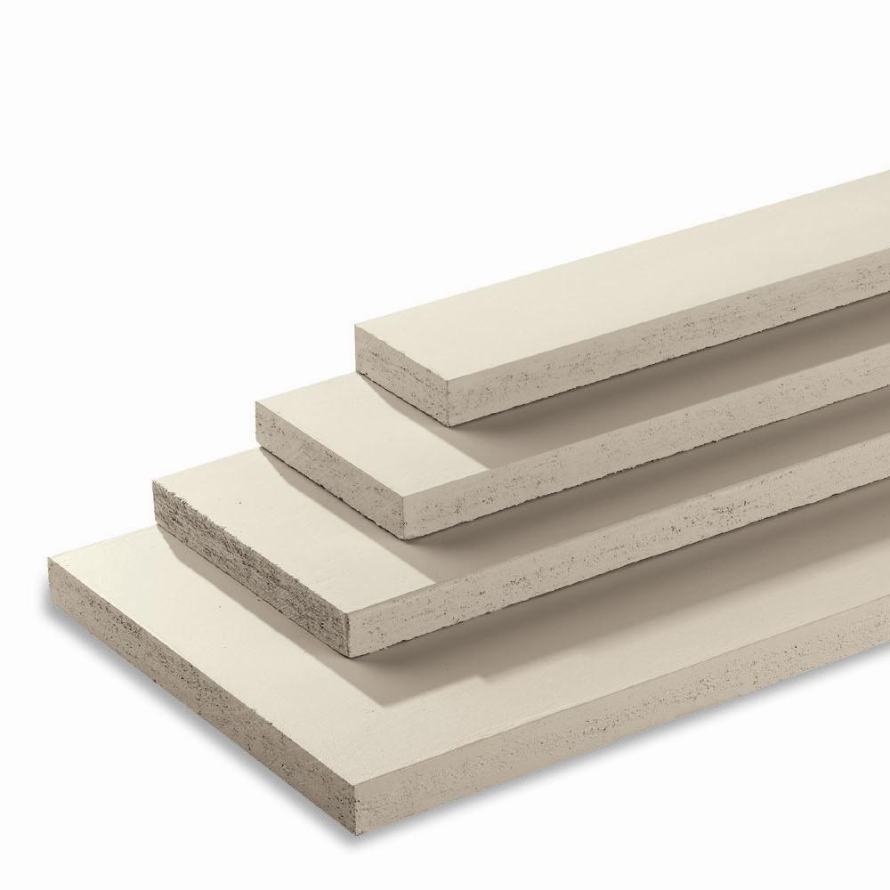 Pvc Board Siding : Azek trim in ft pvc board