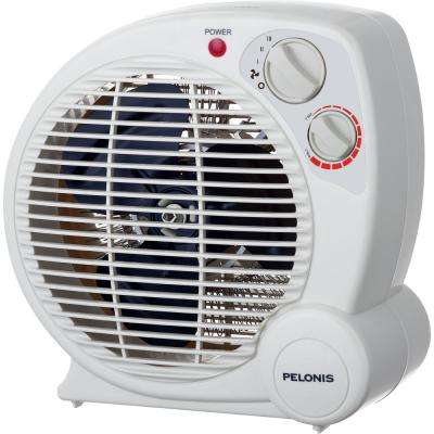 1,500 Watt Fan Compact Personal Electric Portable Heater With Thermostat