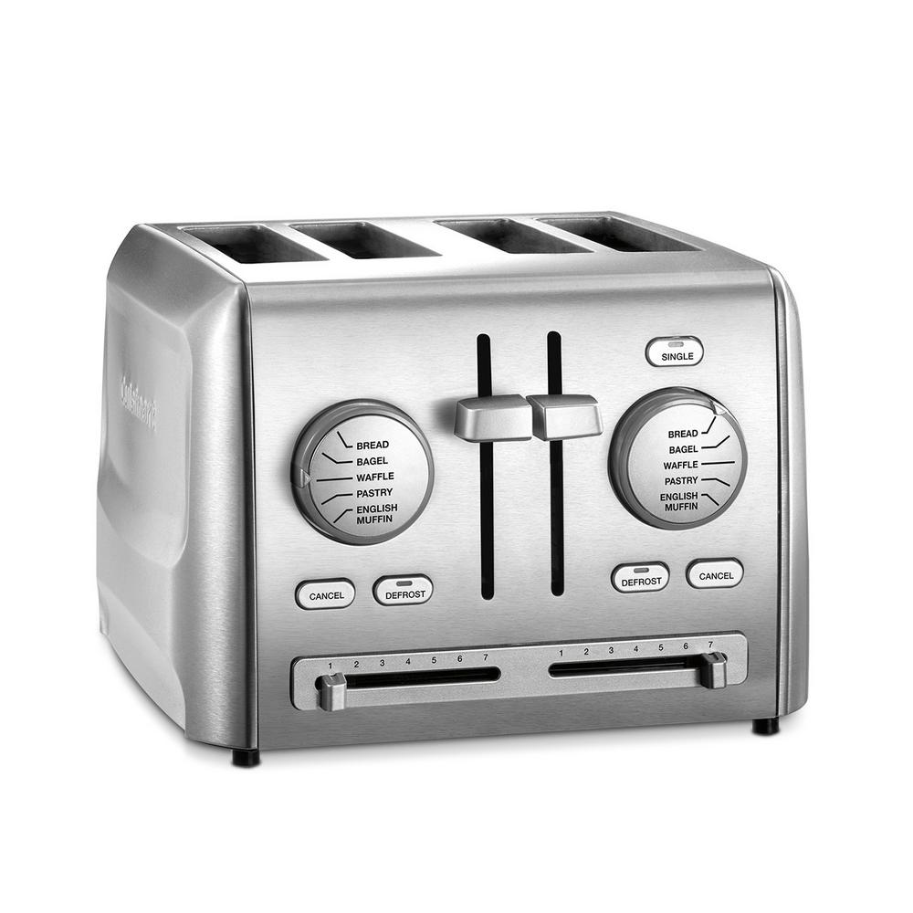 Cuisinart 4-Slice Stainless Steel Custom Select Toaster ...