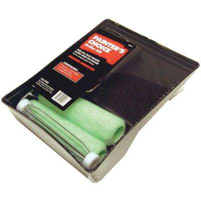 4-Piece 9 in. x 3/8 in. Painter's Choice Roller Set