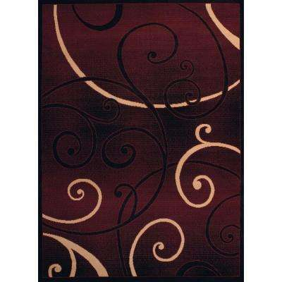 compressed rug depot shag home n x safavieh rugs ft square maroon the california area b flooring