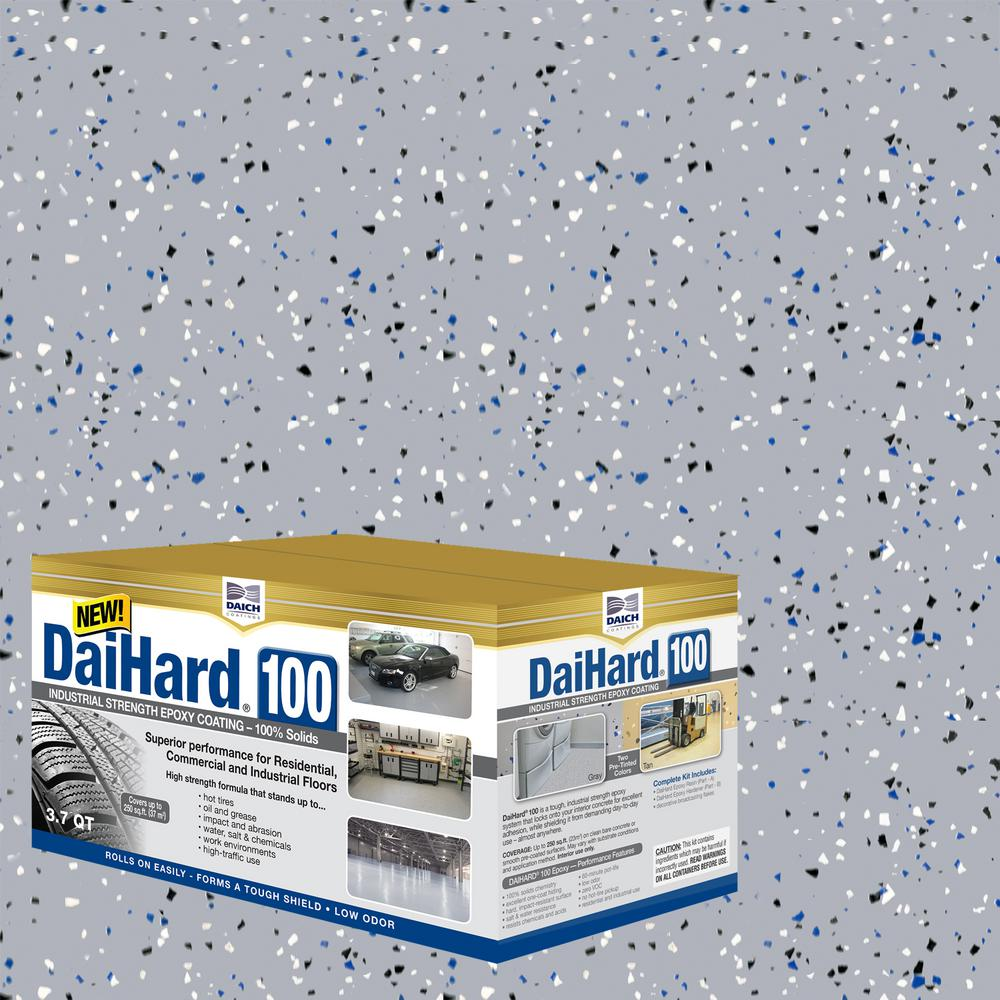 Solids Epoxy Concrete Floor Coating Kit
