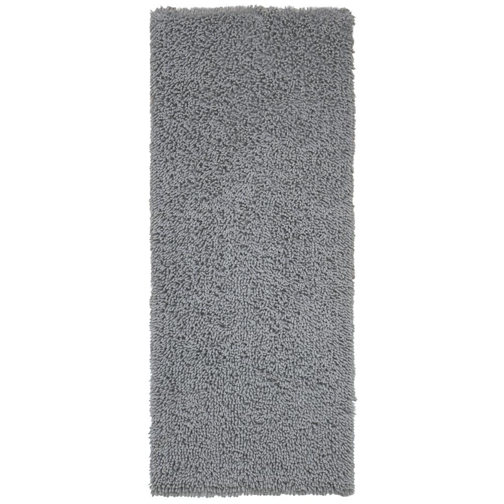 Grey Shag Chenille Twist  2 ft. x 5 ft. Runner