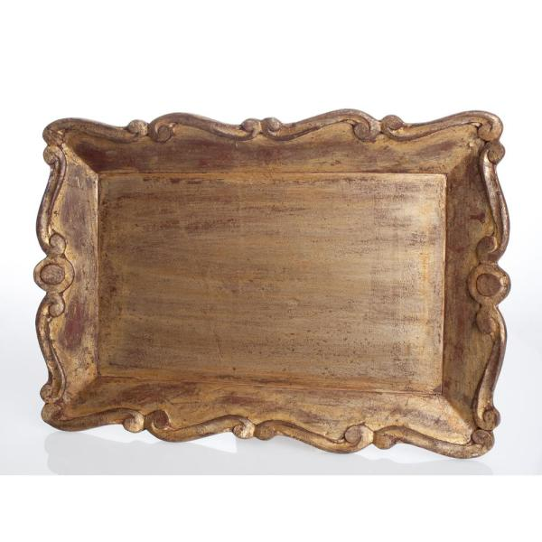 Abigails Mother of Pearl Wood Serving Tray