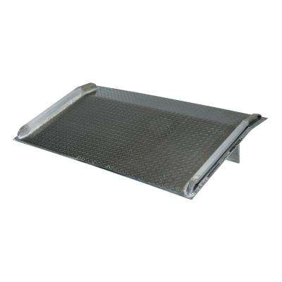 5,000 lb. 66 in. x 42 in. Aluminum Truck Dock Board