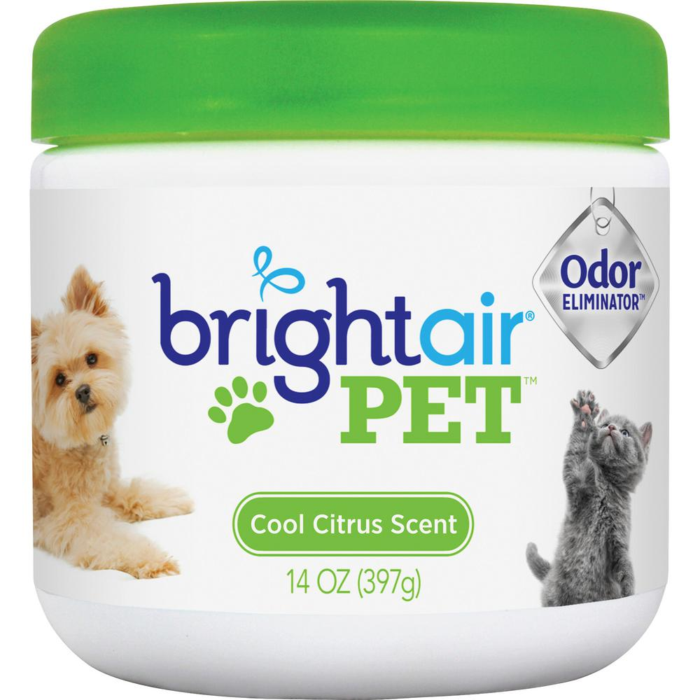 14 oz. Pet Odor Eliminator Air Freshener Gel in Green